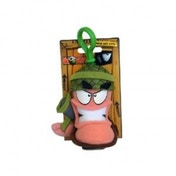 Worms Army Keychain Plush