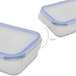 Set of 4 Glass Airtight Food Storage Containers | M&W - Image 3