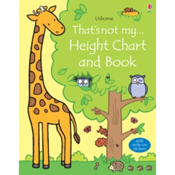 That's Not My Height Chart and Book by Fiona Watt (Fold-out book or chart, 2015)
