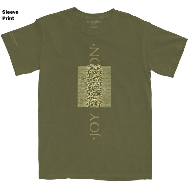Joy Division - Blended Pulse Unisex XX-Large T-Shirt - Green