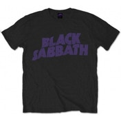 Black Sabbath - Vintage Way Logo Men's Large T-Shirt - Black