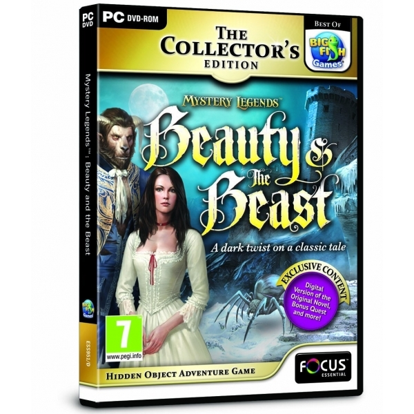 Mystery Legends Beauty and the Beast Collector's Edition Game PC