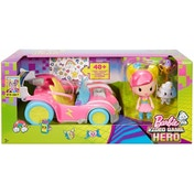 Barbie - Video Game Hero Vehicle And Figure Playset