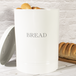 Bread Bin Crock Storage Canister Jar | M&W White - Image 4