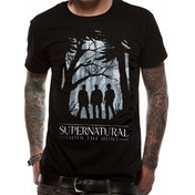 Supernatural - Group Outline (Unisex) Black Large