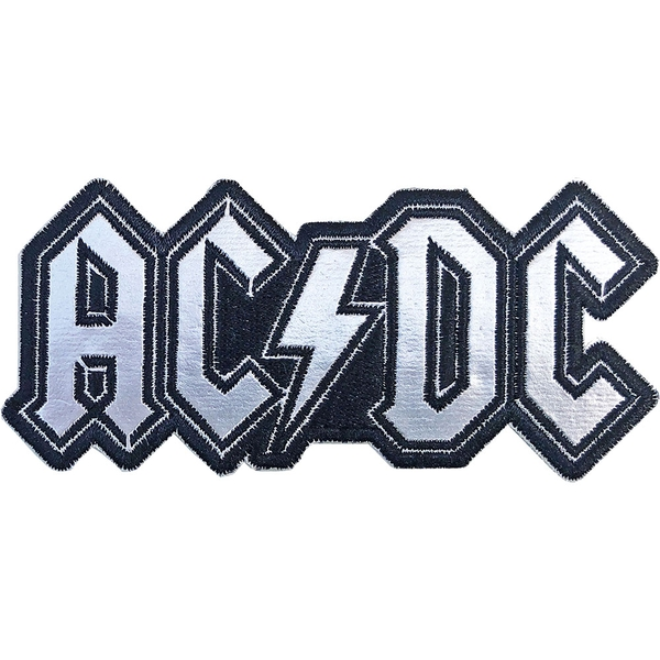 AC/DC - Cut-Out Foil Logo Standard Patch