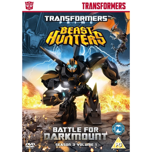 Transformers Prime Season 3 Beast Hunters - Battle for Darkmount DVD