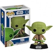 Ex-Display Star Wars Yoda Pop! Vinyl Figure Bobble Head Used - Like New