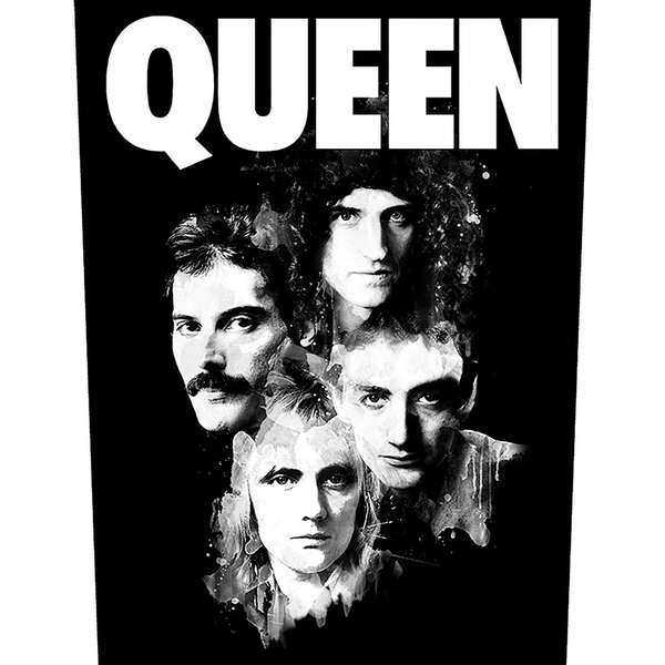 Queen - Faces Back Patch