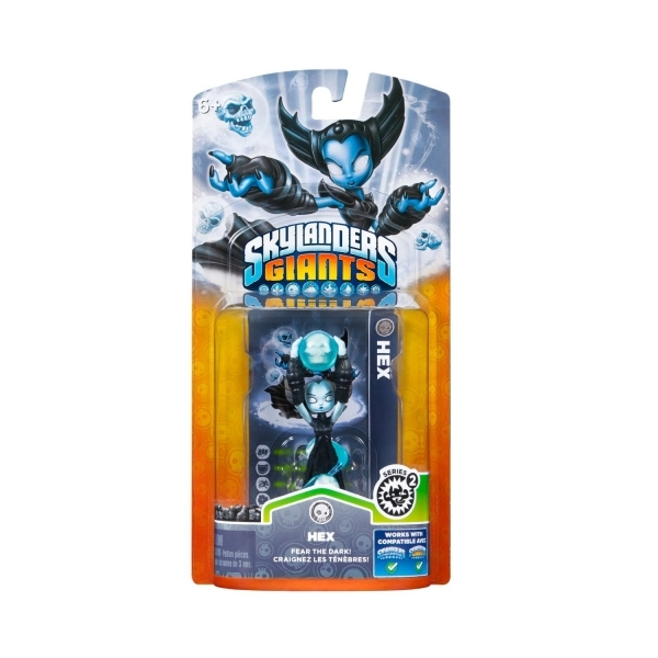 Series 2 Hex (Skylanders Giants) Undead Character Figure