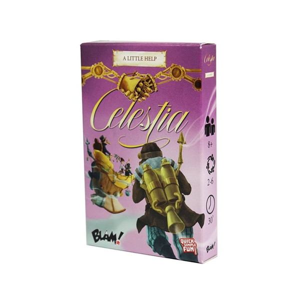 Celestia A Little Help Board Game Expansion