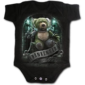 Frankented Baby Small Sleepsuit - Black