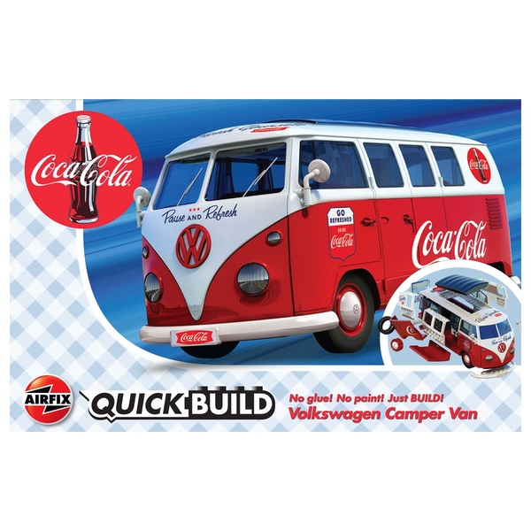 Coca-Cola VW Camper Van Quickbuild Air Fix Model Kit