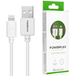 Powerflex 1m White Lightning Cable - Apple Certified (Retail Box) - Image 2