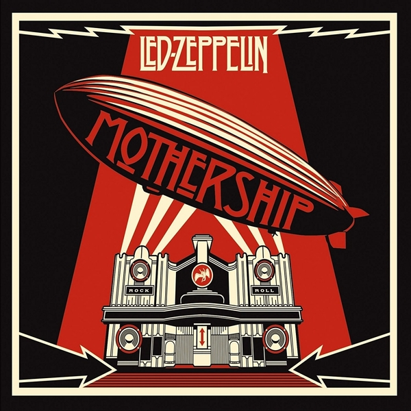 Led Zeppelin - Mothership New Version Music CD - Image 1