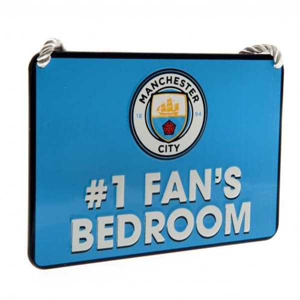 Manchester City FC Bedroom Sign No1 Fan