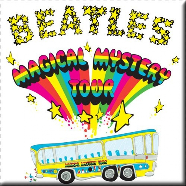 The Beatles - Magical Mystery Tour Fridge Magnet