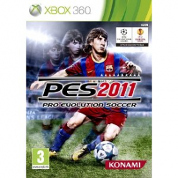 Pro Evolution Soccer PES 2011 Game Xbox 360