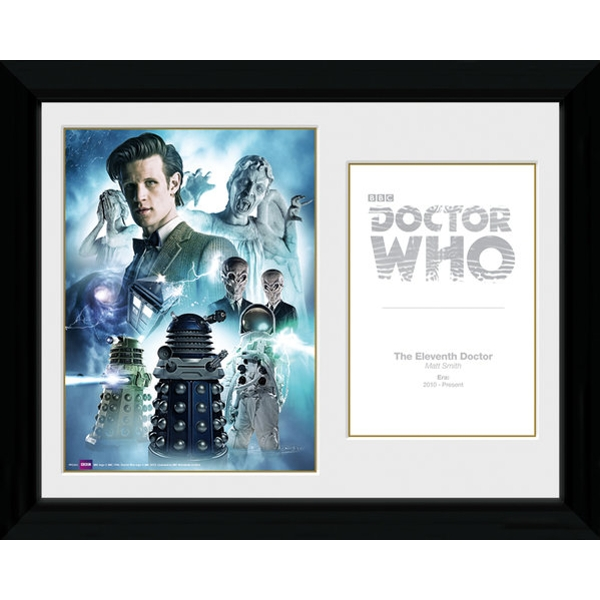Doctor Who 11th Doctor Framed Photographic Print - ozgameshop.com
