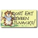 Don't Eat Between Snacks Smiley Magnet Pack Of 6 - Image 2