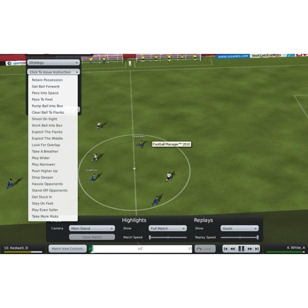 Football Manager 2010 Game PC & MAC - Image 3