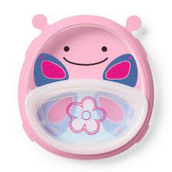 Skip Hop Butterfly Smart Serve Plate & Bowl