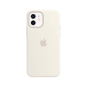 Apple Silicone Case with MagSafe (for iPhone 12 | 12 Pro) - White