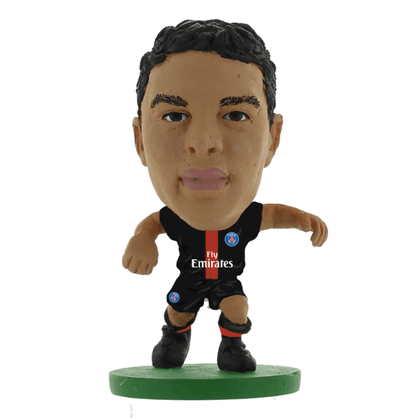 SoccerStarz Thiago Silva Paris St Germain Home Kit 2020 Figure