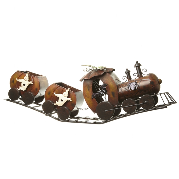 Halloween Ghost Train Ornament by Heaven Sends
