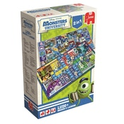 Disney Pixar Monsters University 2 in 1 Double Sided Board Game