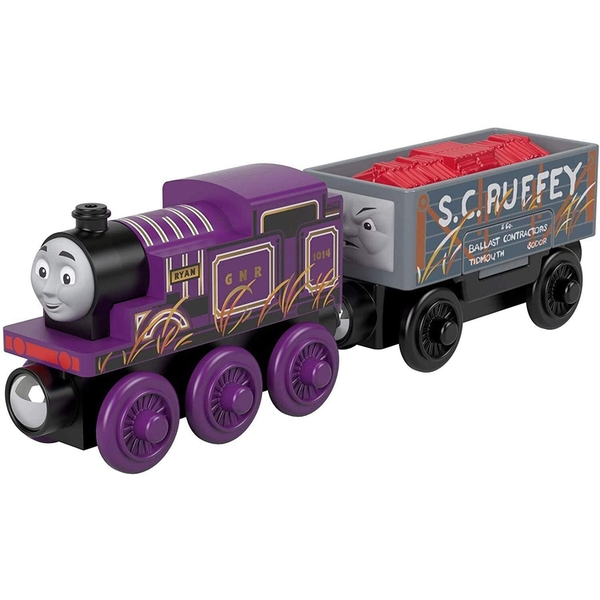 Ryan Engine and S.C. Ruffey Cargo (Thomas & Friends) Playset [Damaged Packaging]