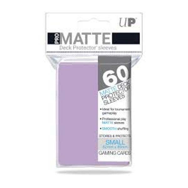 Ultra Pro Pro-Matte Lilac Small Deck Protectors 60 Sleeves - 10 Packs