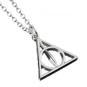 Sterling Silver Deathly Hallows Necklace