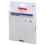 Hama CD/DVD Protective Sleeves 25, transparent