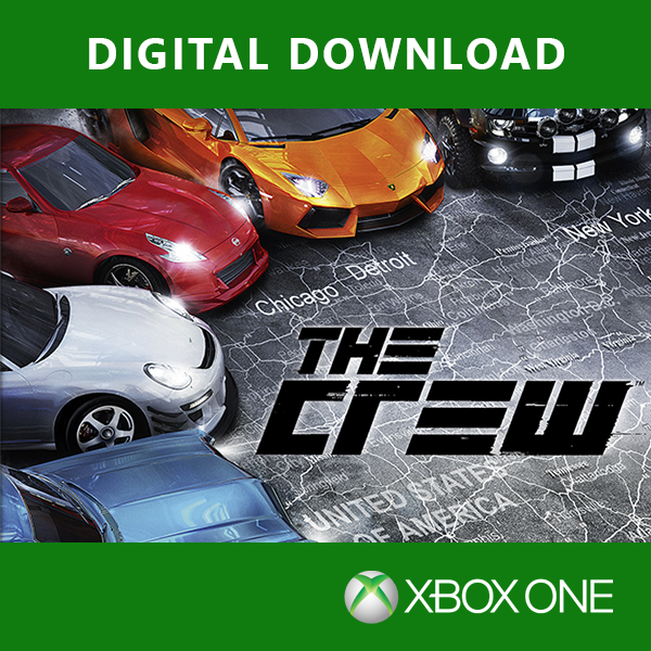 The Crew Game Xbox One Digital Download Game - Image 1