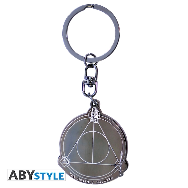 Harry Potter - Deathly Hallows Metal Keyring