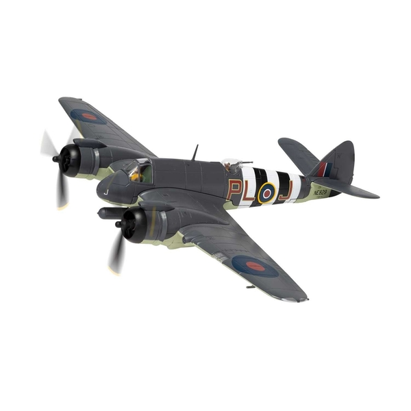 Bristol Beaufighter TF.X NE829/PL-J- RAF No.144 Squadron Banff Strike Wing Aberdeenshire Scotland 1:72 Corgi Model