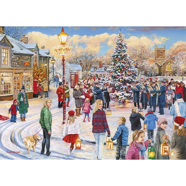 Image of Christmas Chorus Jigsaw Puzzle - 1000 Pieces