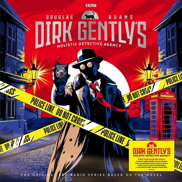 Douglas Adams - Dirk Gently's Holistic Detective Agency Red, Yellow & Blue Vinyl