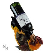 Cockerel Wine Holder