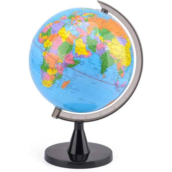 Toyrific TY6103 Kids World Globe Educational with Stand 20cm, Multi