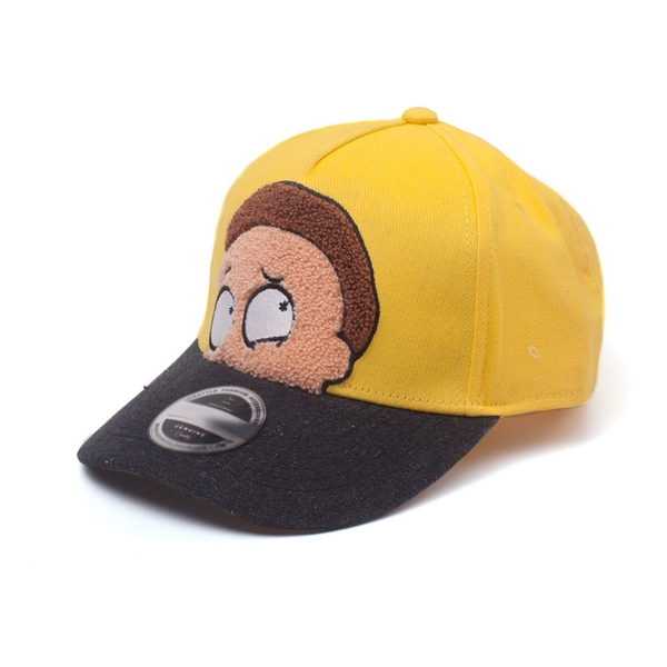 Rick And Morty - Morty Chenille Unisex Adjustable Cap Cap - Yellow/Black