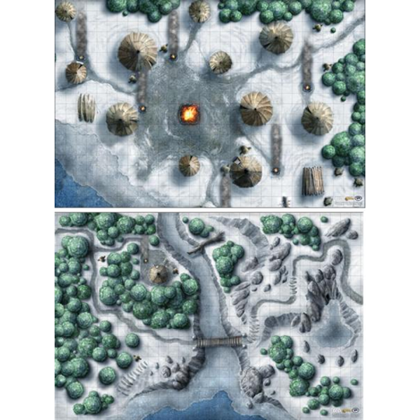 Dungeons & Dragons (5th Ed.): Icewind Dale: Rime of the Frostmaiden Encounter Map Set