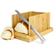 Bamboo Bread Slicer Guide With Crumb Catcher | M&W - Image 2