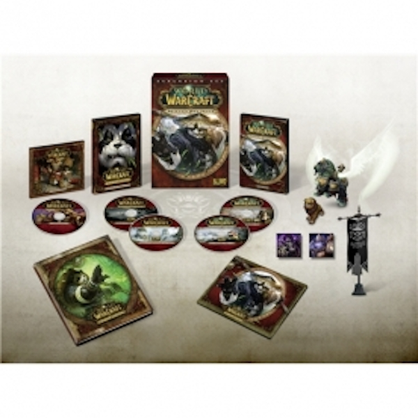 World Of Warcraft Mists Of Pandaria Collector's Edition Game PC - Image 2