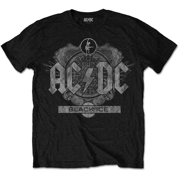 AC/DC - Black Ice Unisex XX-Large T-Shirt - Black