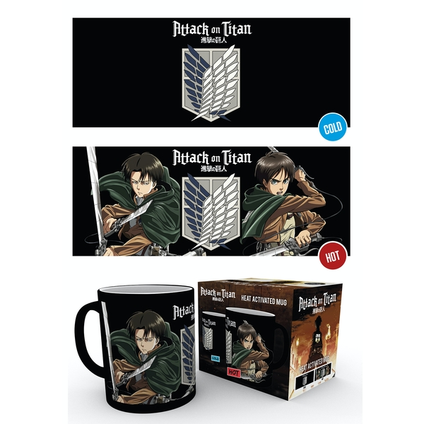 Attack on Titan Scouts Heat Change Mug