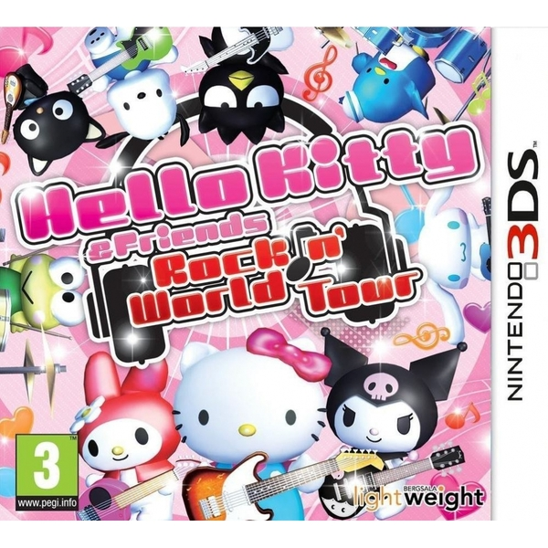 Hello Kitty And Friends Rocking World 3DS Game