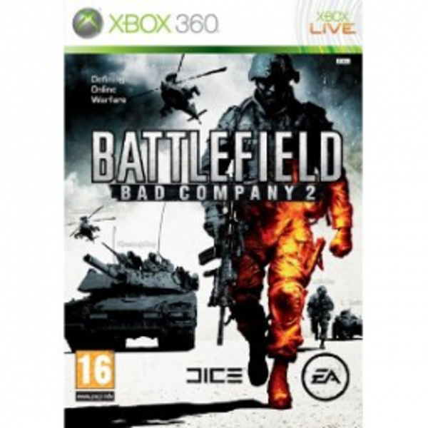 Battlefield Bad Company 2 Game Xbox 360