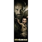 The Walking Dead Rick Door Poster